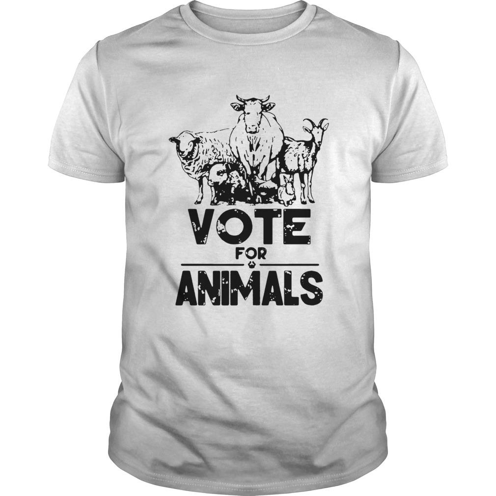 Vote For Animals 2020 President  Unisex