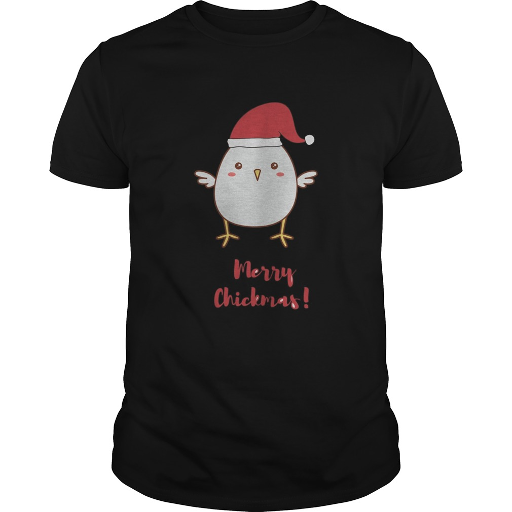 Merry Chickmas Chicken Hat Santa Clause  Unisex