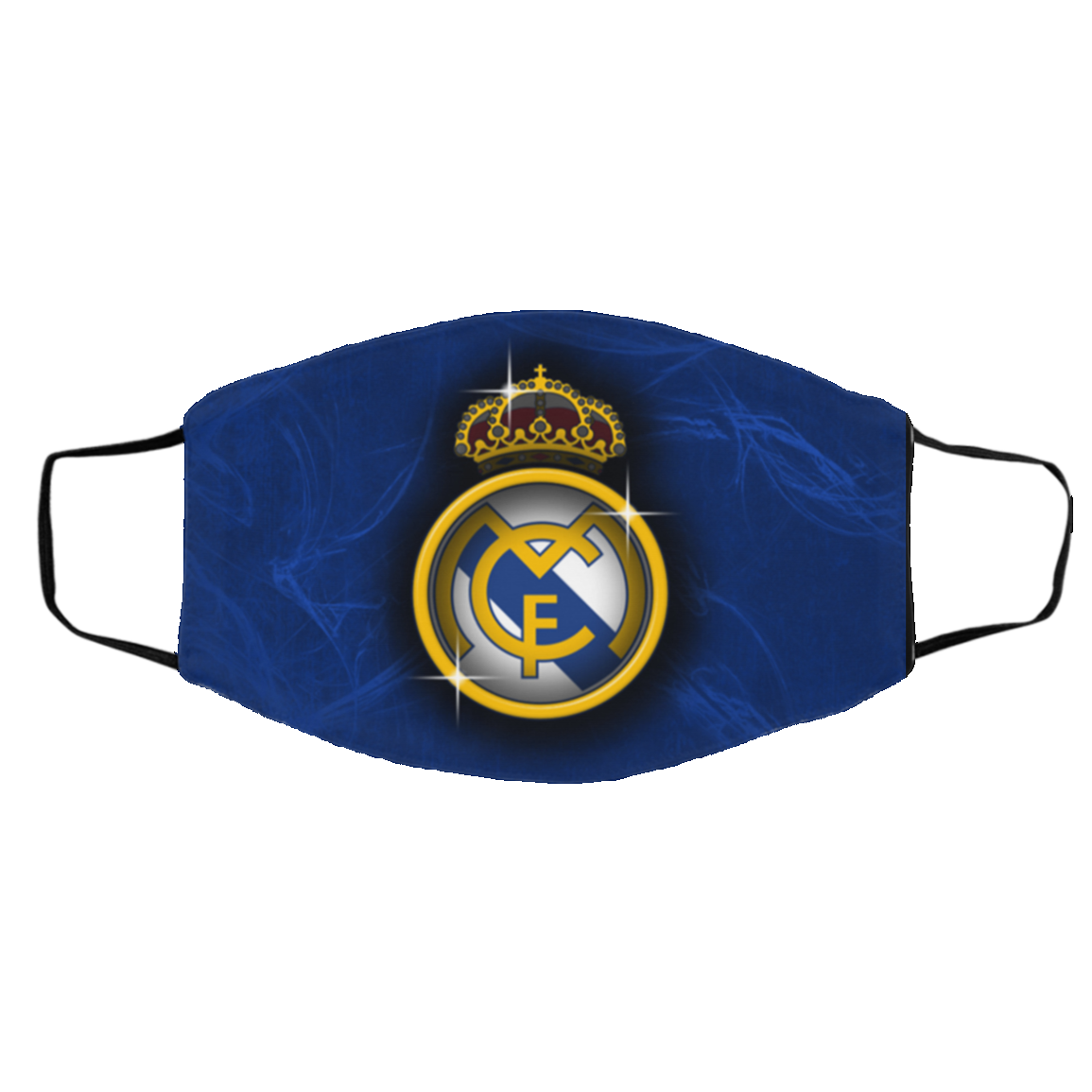 Real Madrid Soccer Club Face Mask
