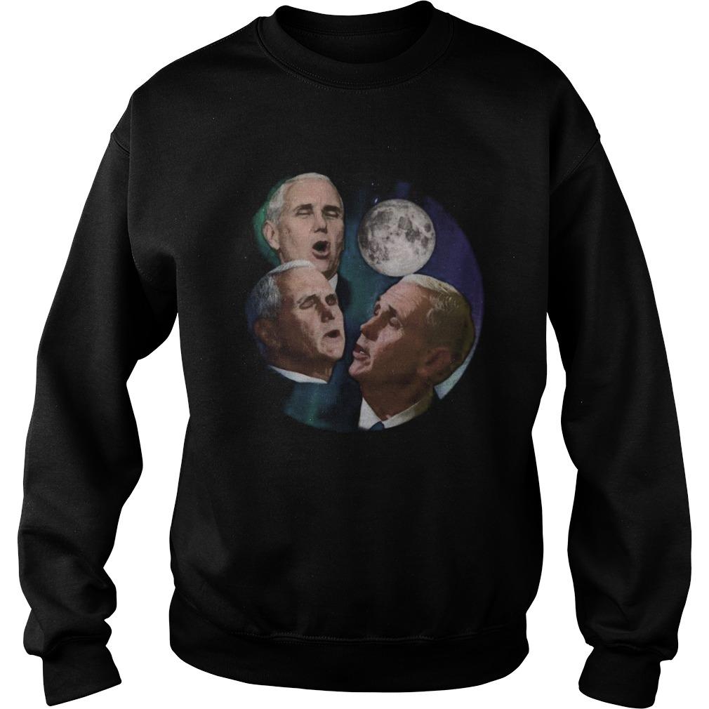 Three Pence Moon  Sweatshirt