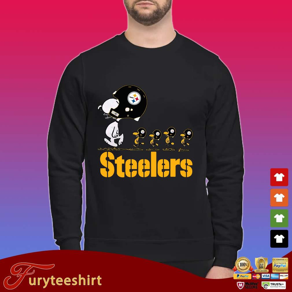 Snoopy and Woodstock Pittsburgh Steelers shirt