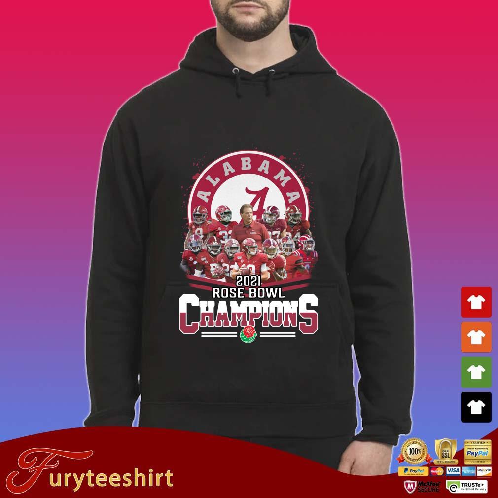 Alabama Crimson Tide 2021 Rose Bowl Champions s Hoodie