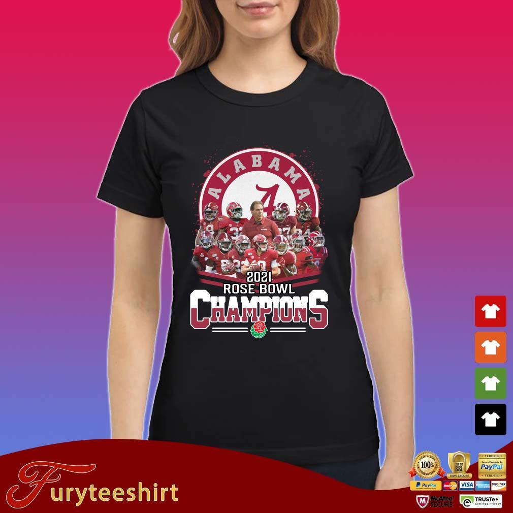Alabama Crimson Tide 2021 Rose Bowl Champions s Ladies