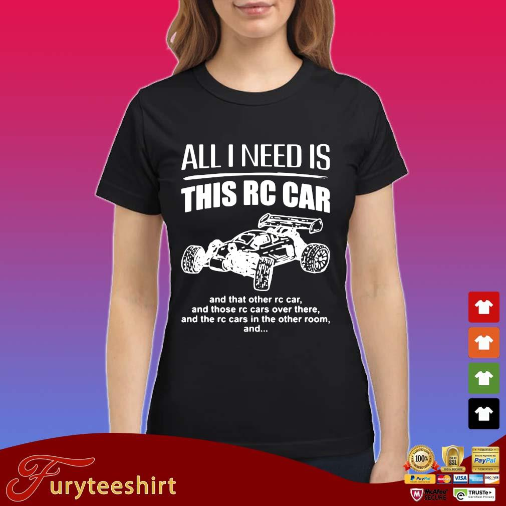 All I need is this rc car and that other rc car and those rc cars over there and the rc cars in the other room and s Ladies