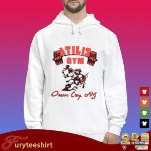 Atilis gym ocean City nf s Hoodie trắng