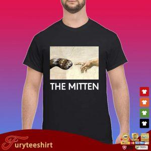 Bernie Sanders the mitten shirt