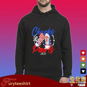 Chucks And Pearls 2021 American Flag Shirt Hoodie