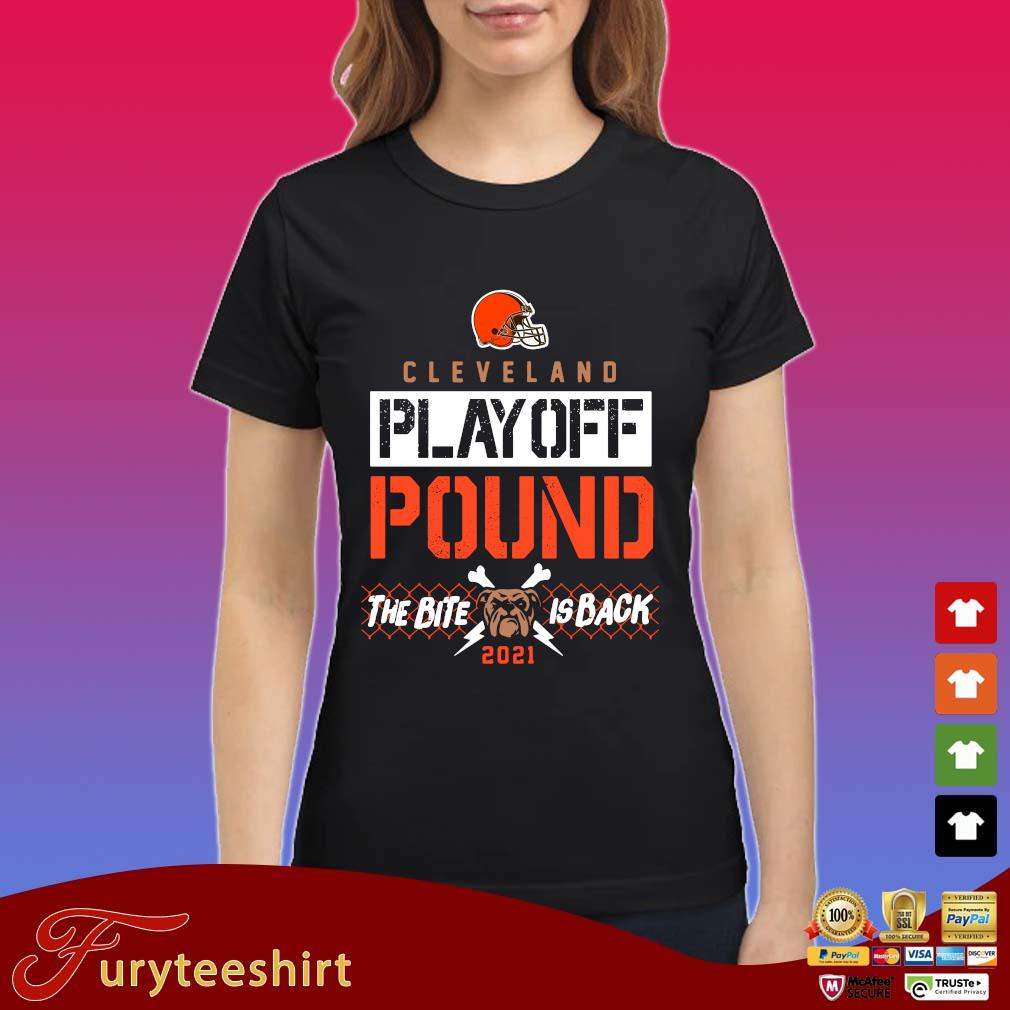 Cleveland Browns playoff pound the bite is back 2021 s Ladies