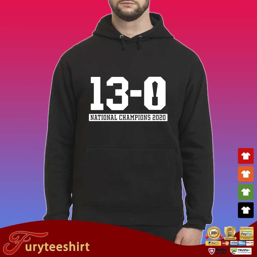 Funny 13-0 national Champions 2020 s Hoodie