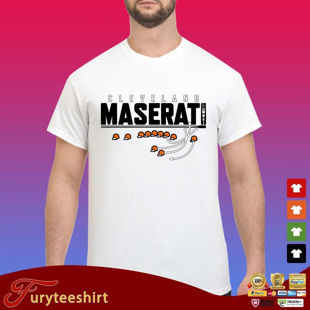 Funny Cleveland maserati s Shirt trang