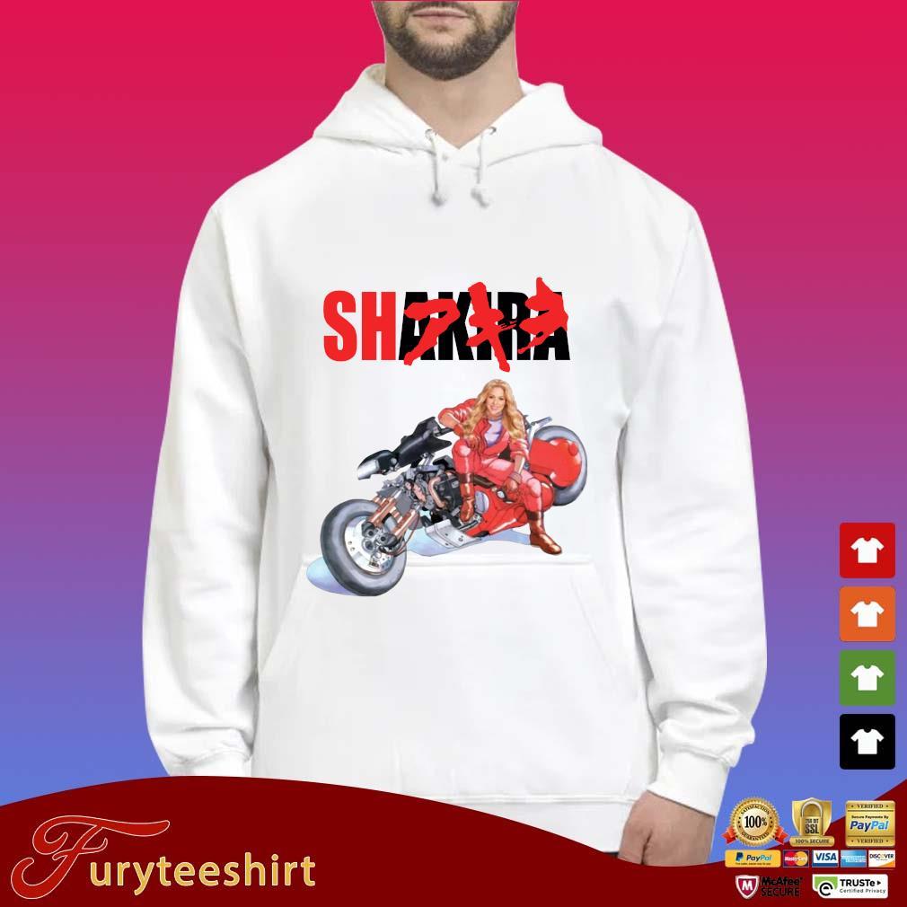 Funny Shakira Akira s Hoodie trắng