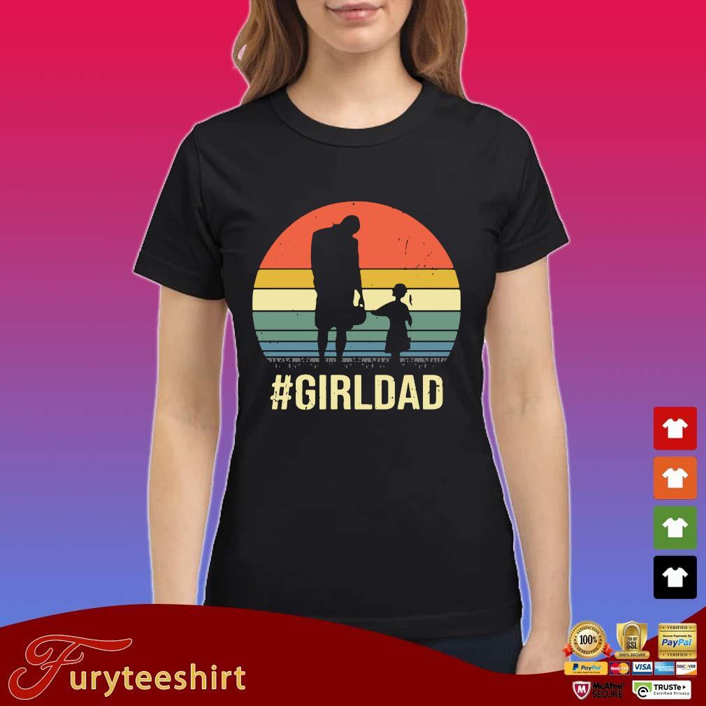 #Girldad vintage retro shirts Ladies