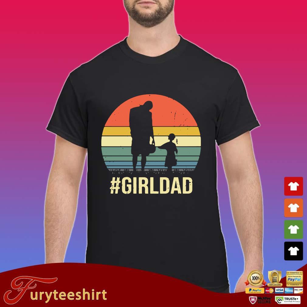 #Girldad vintage retro shirts Shirt