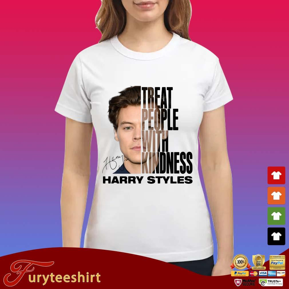 Harry Styles treat people with kindness signature s Ladies trang