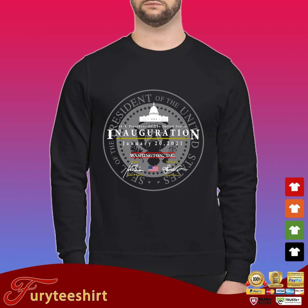 Joe Biden Kamala Harris President of the United States 46th inauguration january 20 2021 Washington DC shirt