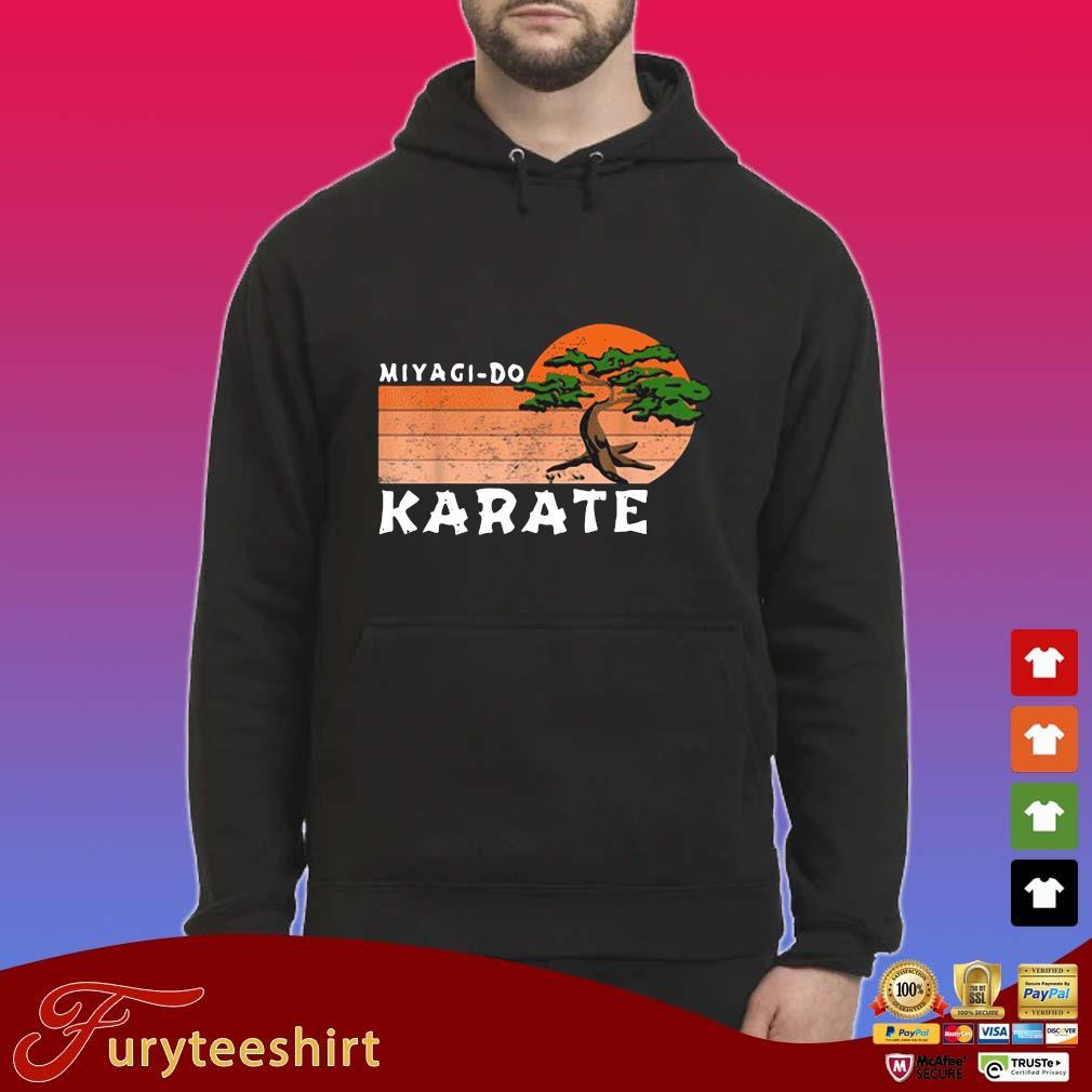 Miyagi-Do Karate Vintage Sunset Shirt Hoodie