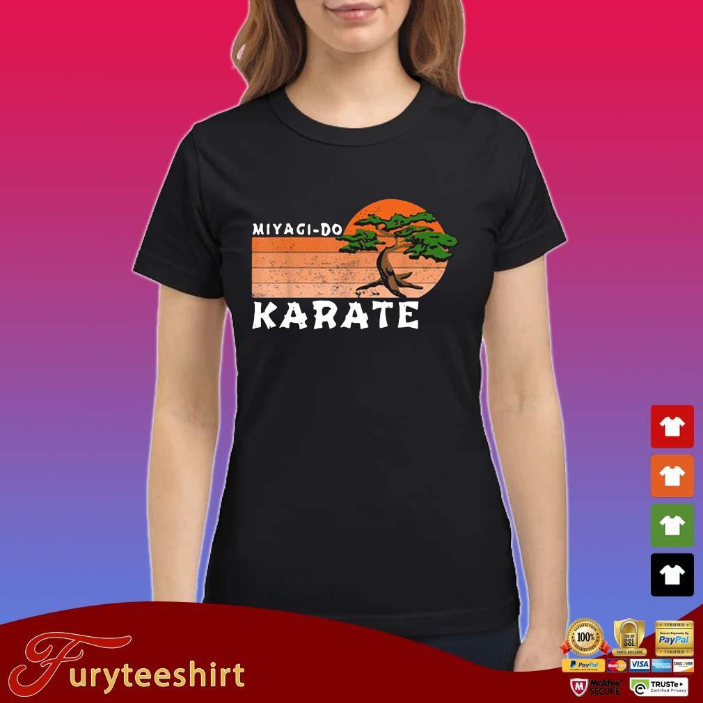 Miyagi-Do Karate Vintage Sunset Shirt Ladies
