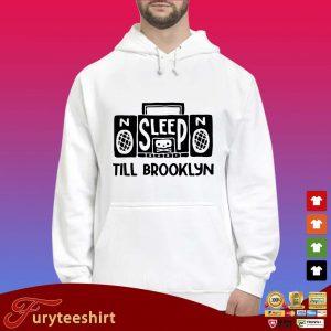 No Sleep no till brooklyn s Hoodie trắng