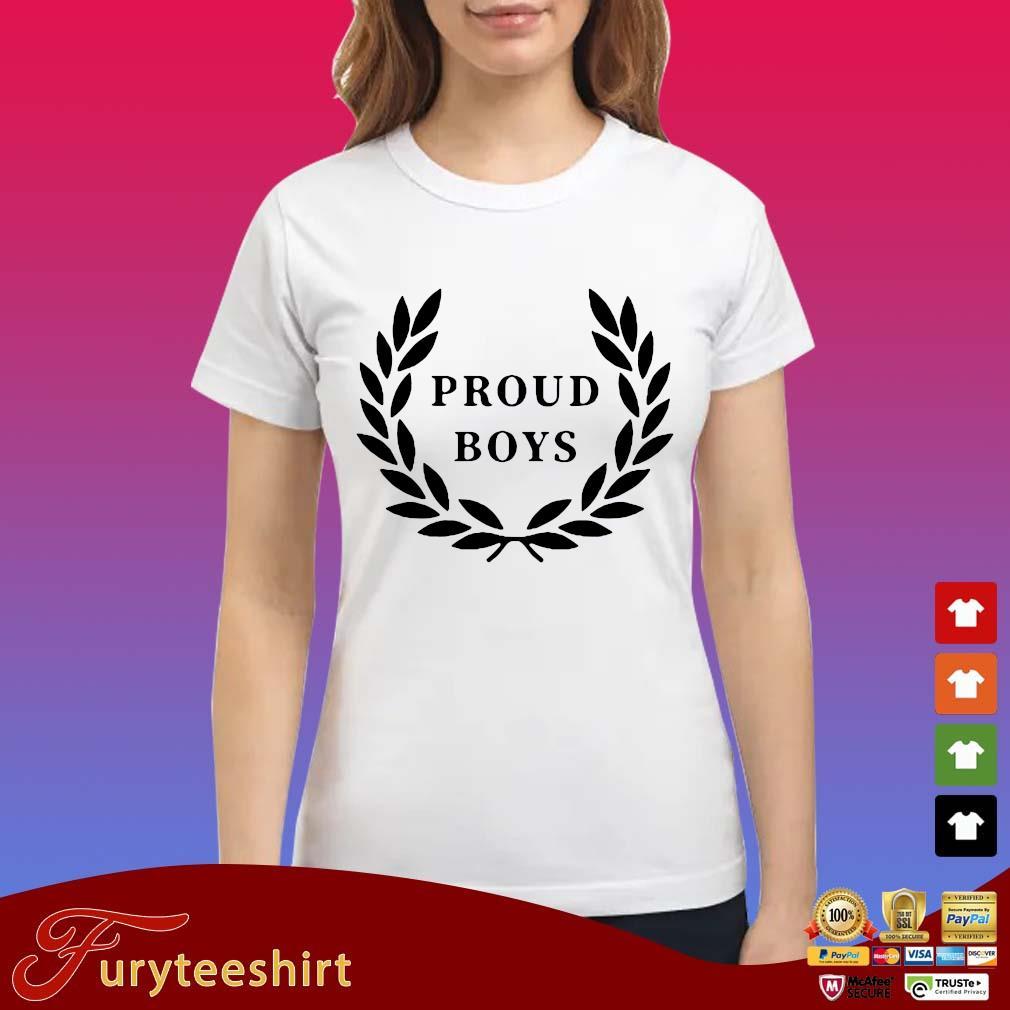 Official Proud Boys Shirts Ladies trang