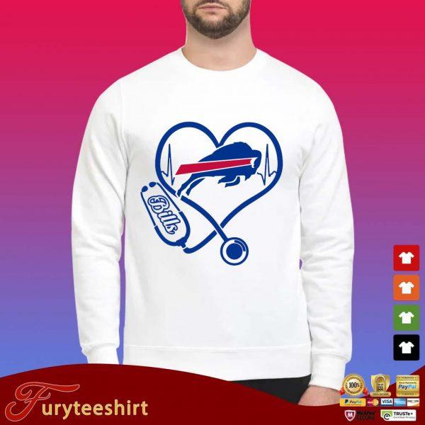 Stethoscope Buffalo Bills s Sweater trang