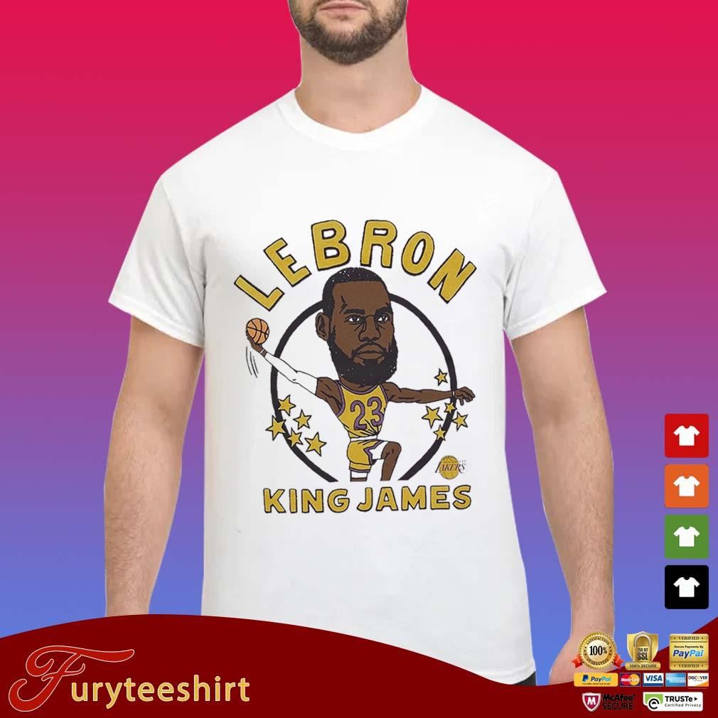 LeBron James King Caricature Shirt