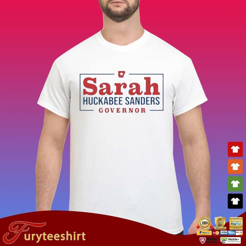 Sarah Huckabee Sanders Governor Shirt