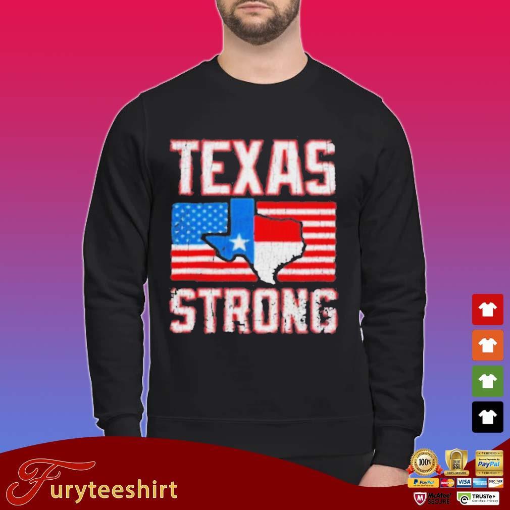 Texas Strong American Flag Shirt Sweater