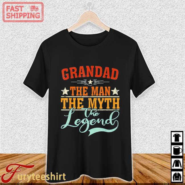 Grandad The Man The Myth The Legend Father's Day Shirt