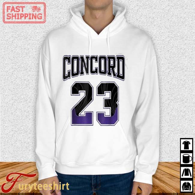 Simple 23 Made To Match With Jordan 12 Dark Concord Shirt Hoodie trang