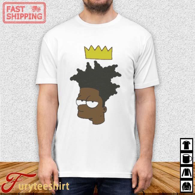 The Simpsons Basquiat Bart 2021 Shirt