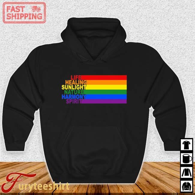LGBT Life Healing Sunlight Nature Harmony Spirit Shirt Hoodie den